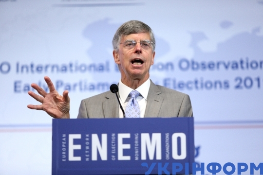 ENEMO briefs short-term observers before snap election to Ukrainian Parliament