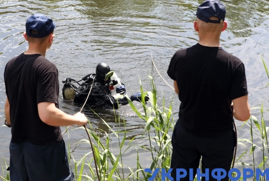 Kharkiv civil defence students learn to respond to man-made disaster