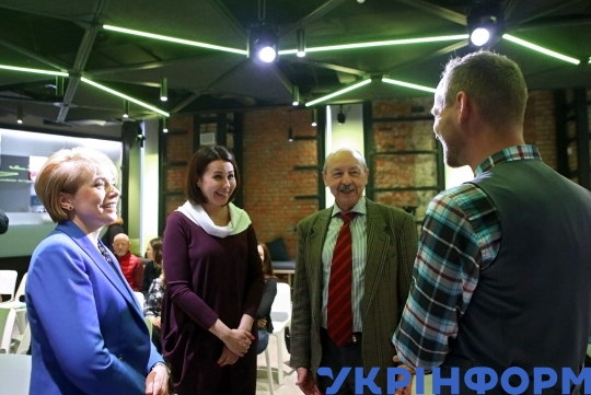 Press lunch on occasion of Global Teacher Prize Ukraine 2019