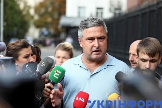 Judge Yevhen Ablov questioned by Prosecutor's Office