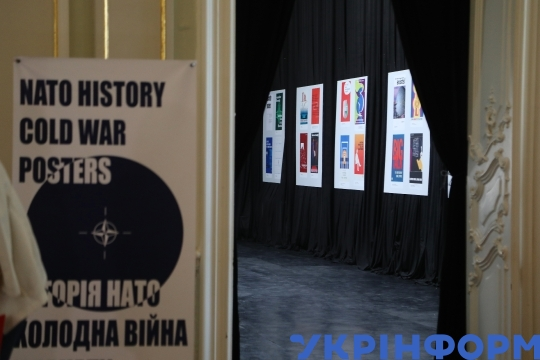 Cold War-era posters on show in Odesa