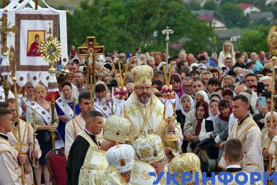 Nationwide patriarchal pilgrimage to miracle-working icon of Mother of God of Halychyna