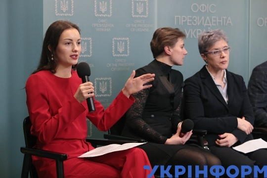 Briefing on Safer Internet Day in Kyiv