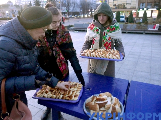 Holodomor Victims Remembrance Day in Cherkasy