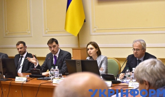 MP Oleksii Honcharuk heads siting of National Council for Science and Technology Development