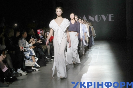 PANOVE FW20-21 catwalk show at Ukrainian Fashion Week