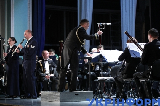 Concert of National Presidential Orchestra and USAFE Band in Kyiv