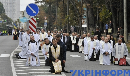 March of Families takes place in Vinnytsia