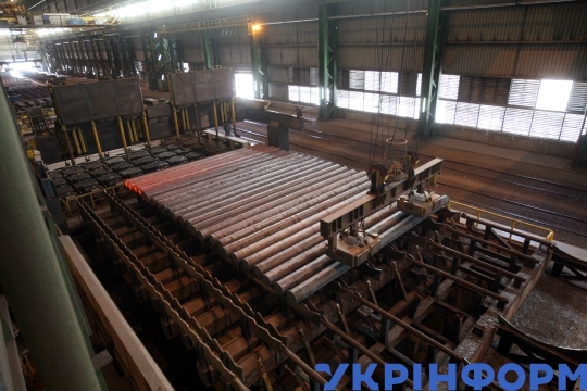 Iron works in Dnipro