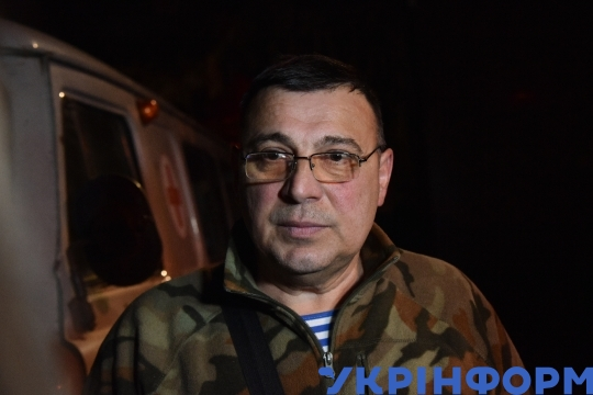 Defenders of Donetsk airport get together in Kyiv