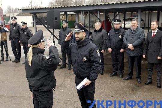 4th anniversary of Patrol Force marked in Chernihiv