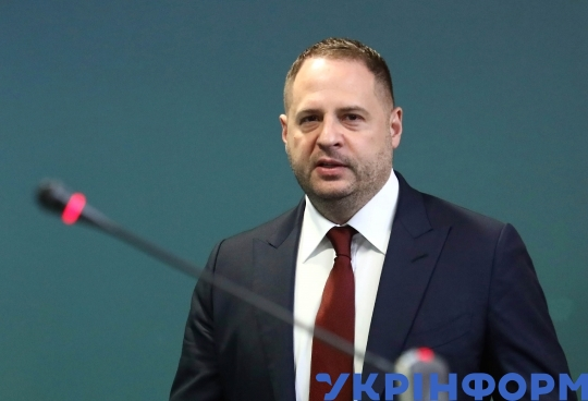 First briefing of Andrii Yermak as new head of President's Office
