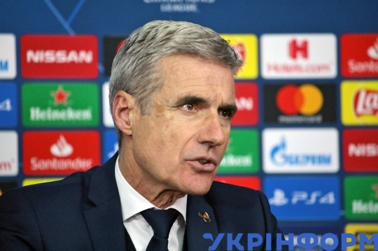 Post-match news conference of Shakhtar's Luis Castro in Kharkiv