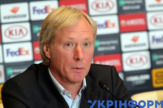 Post-match news conference of Dynamo, Malmö after UEFA Europa League Group B game in Kyiv