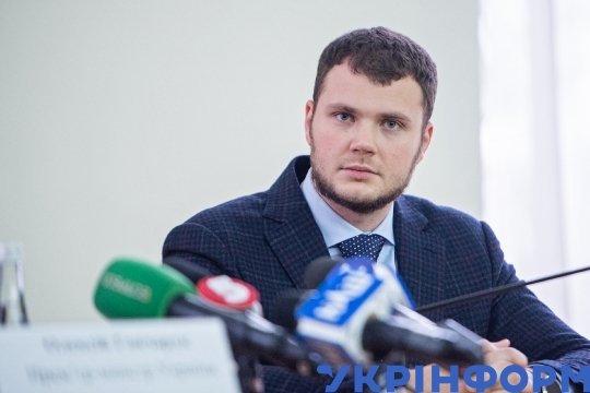 PM Oleksiy Honcharuk introduces new Ukravtodor chief