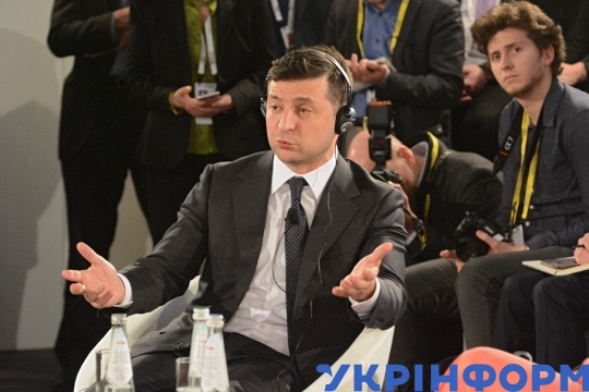 President Volodymyr Zelenskyy takes part in Munich Security Conference