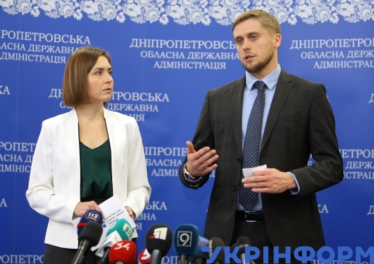 Education, science minister Hanna Novosad pays working visit to Dnipropetrovsk Region