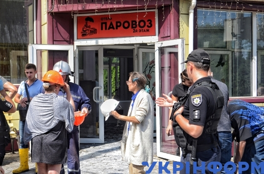 Fire in hotel claims lives of 9 people in Odesa