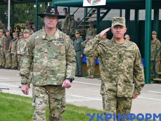 Exercise Rapid Trident 2019 takes place in Lviv Region