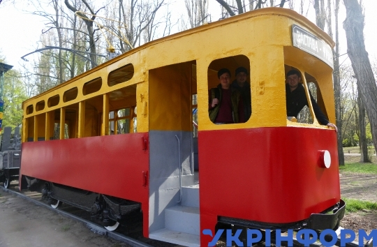 Tram-monument reconstructed in Odesa
