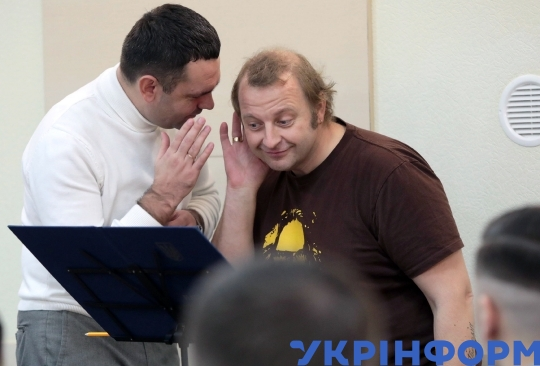 Tomas Gansch rehearses with National Presidential Orchestra in Kyiv