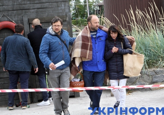 "Filming of new TV series ""Whirlpool"" in Dnipro"