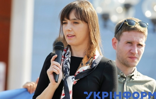 Action in support of Crimean political prisoners