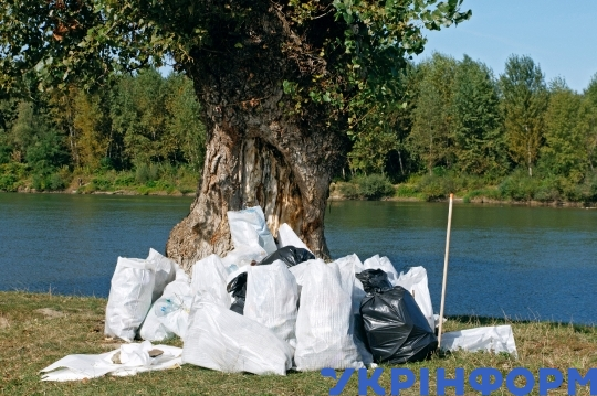 Big Cleaning ecological action in Zakarpattia Region