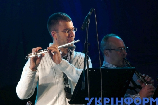 Concert at Summer Theatre in Odesa