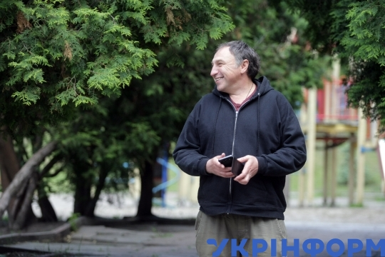 Interview of actor Oleksandr Yarema with Ukrinform