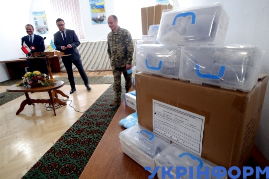 Humanitarian aid to Main Military Clinical Hospital to fight COVID-19