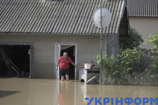 Flooding in Ivano-Frankivsk Region