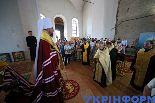 Official visit of Metropolitan Epifanii to Kharkiv