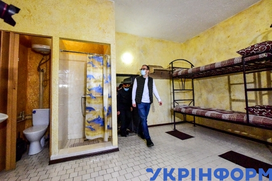 Pay-to-stay cells at Zaporizhzhia detention centre