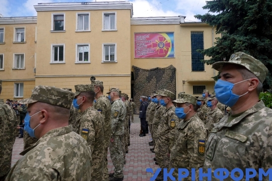 Monument to Ukrainian soldiers fallen in Donbas opens in Odesa