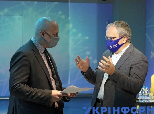 "Briefing on ""First results of providing Ukrainians access to 4G mobile internet """